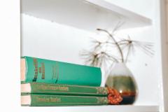 huisje Nordic boekenkast