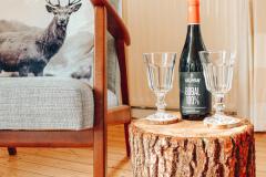 huisje Nordic woonkamer